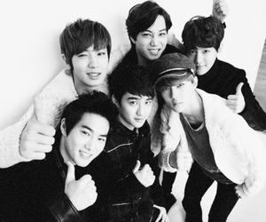 exo, baekhyun, and kai image