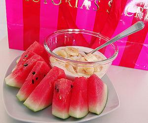 fruit, pink, and Victoria's Secret image