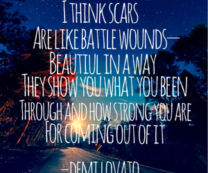 beautiful, demi, and quote image