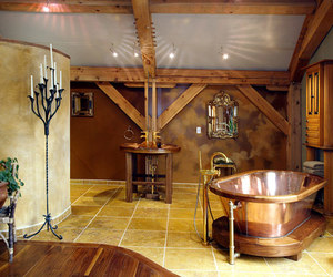 kitchen interior, wooden home, and interior. image