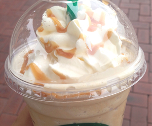 caramel, coffee, and drink image
