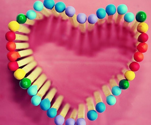 heart, colors, and colorful image
