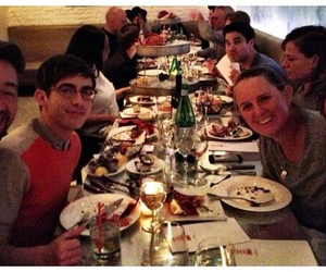 darren criss, kevin mchale, and glee cast image