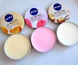 nivea, lips, and lip butter image