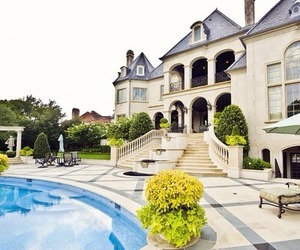 expensive, luxury, and mansion image