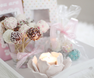 candle, candy, and food image