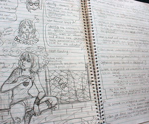 anime, art, and doodles image