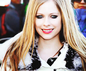 Avril Lavigne, hair, and rock image