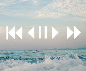 music, play, and sea image