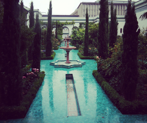 luxury, garden, and blue image