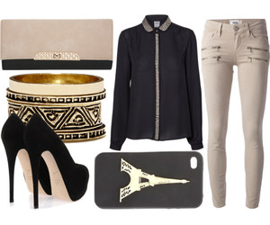 accessories, Polyvore, and shirt image