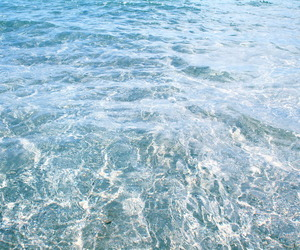 water, ocean, and blue image