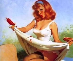 Pin Up, vintage, and picnic image
