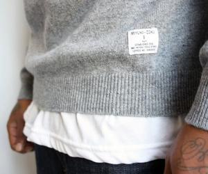 fashion, sweater, and man image