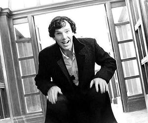holmes, sherlock, and black and white image