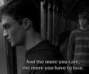 harry potter, quotes, and care image