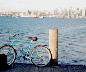 bike, photography, and seattle image