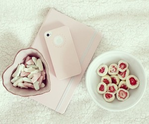 fruit and pink image