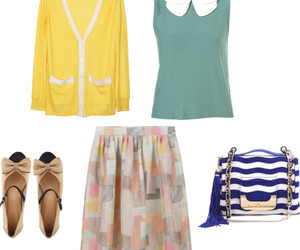 fashion, Polyvore, and preppy image