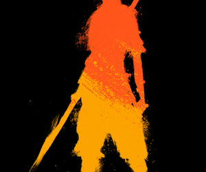 avatar, background, and fire image