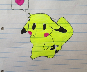 drawing and picachu image