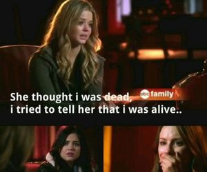 pretty little liars, alison dilaurentis, and lucy hale image