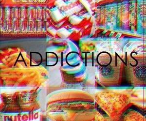 food, addiction, and nutella image