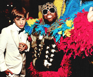 justin bieber, famous, and cee lo green image