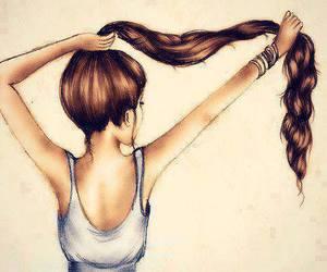 girl, long hair, and kristina webb image
