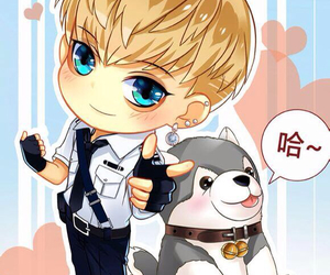 exo, fan art, and tao image