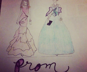 adorable, prom dresses, and modest image