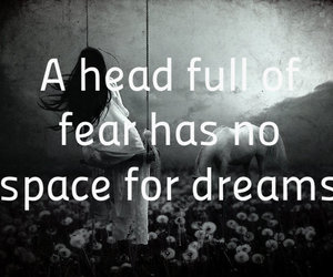 black and white, Dream, and dreamer image