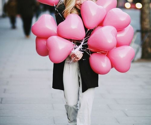 baloons, love, and happy image