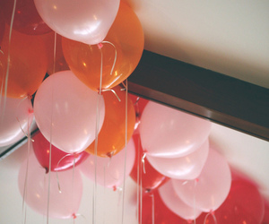 ballons, grunge, and indie image