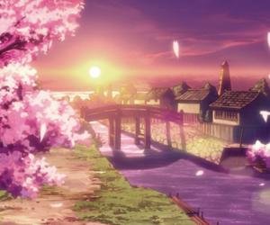 anime, fuse, and sakura image