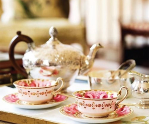 delicious, sweet, and tea image