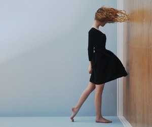photography, hair, and dress image
