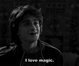 harry potter, magic, and daniel radcliffe image