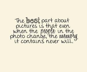 memories, quote, and picture image