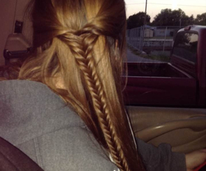 braid, haha, and hairstyles image