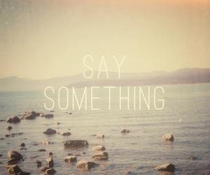 something, say something, and light image