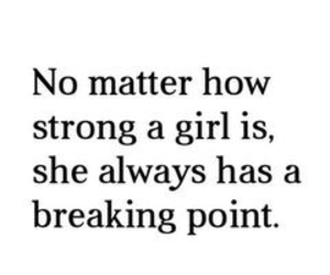 girl, strong, and quotes image