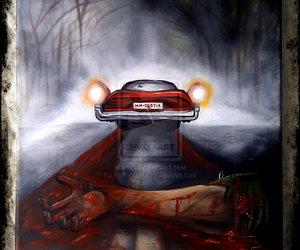 art, car, and drawing image