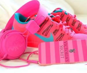 pink, nike, and Victoria's Secret image