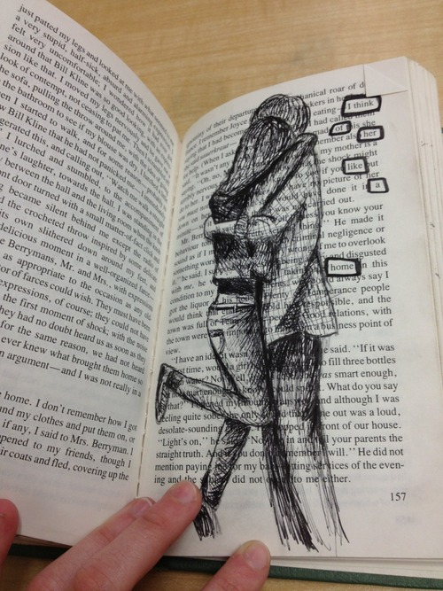 Draw On A Book S Page Via Tumblr On We Heart It