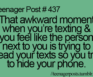 that awkward moment and teenager post image