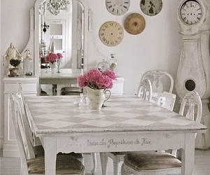 decor, vintage, and shabby chic image