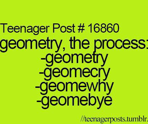 geometry, school, and funny image