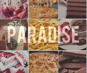 paradise, food, and chocolate image