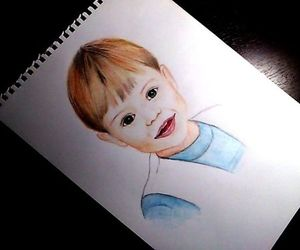 drawing, Harry Styles, and cute image